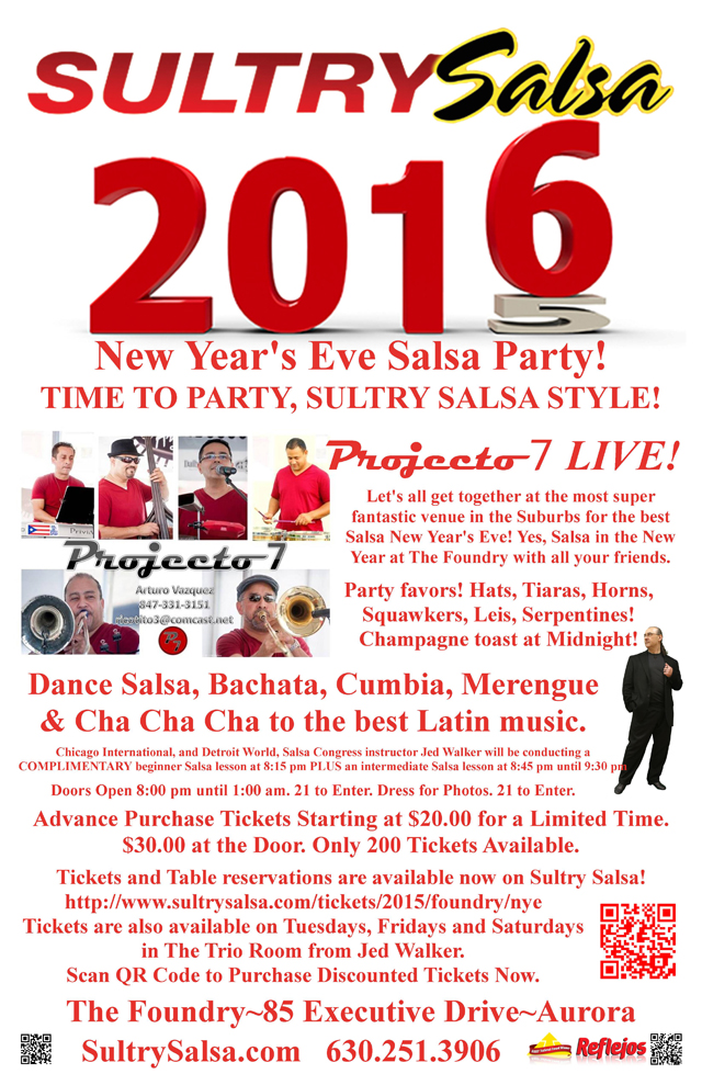Welcoming 2016 with a New Year's Eve Salsa Party at The ...
